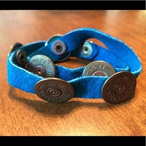 Blue Suede & artillery bracelet 💙